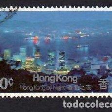Selos: HONG KONG (1983). VISTA DEL PUERTO. YVERT Nº 409. USADO.. Lote 293959158