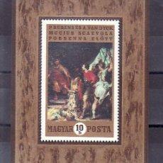 Sellos: HUNGRIA HB 80 SIN CHARNELA, PINTURA HOLANDESA RUBENS, . Lote 9043615