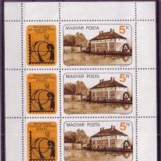 Sellos: HUNGRIA 2852 HB*** - AÑO 1983 - EXPOSICION FILATELICA INTERNACIONAL TEMBAL 83. Lote 26757042