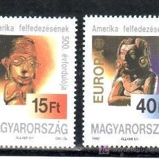 Sellos: HUNGRIA 3370/1 SIN CHARNELA, TEMA EUROPA, V CENTENARIO DEL DESCUBRIMIENTO DE AMERICA POR COLON, . Lote 18797742