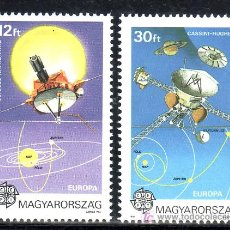 Sellos: HUNGRIA 3315/6 SIN CHARNELA, TEMA EUROPA, EUROPA Y EL ESPACIO, . Lote 19890672