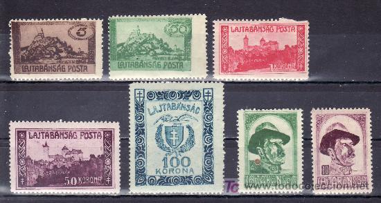 HUNGRIA BENEFICENCIA PRO TUBERCULOSOS CON CHARNELA, SIN CATALOGAR, (Sellos - Extranjero - Europa - Hungría)