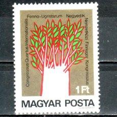 Sellos: HUNGRIA 2446 SIN CHARNELA, 4º CONGRESO INTERNACIONAL . Lote 18945907