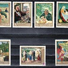 Sellos: HUNGRIA 1931/7 SIN CHARNELA, PINTURA DE LA GALERIA NACIONAL DE BUDAPEST, . Lote 29292082