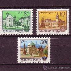 Sellos: HUNGRÍA 2411/13*** - AÑO 1974 - CIUDADES HUNGARAS. Lote 25873892