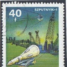 Sellos: HUNGRIA - 1977 ( YV. - 2576 ) ( USADO ) INTERCOSMO. Lote 22614536