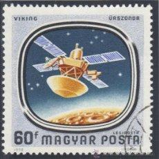 Sellos: HUNGRIA - 1976 AEREO ( YV. - 385 ) ( USADO ) INTERCOSMO - CONQUISTA DEL ESPÀCIO. Lote 22636371