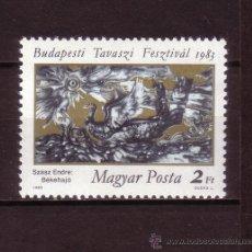 Sellos: HUNGRIA 2848*** - AÑO 1983 - FESTIVAL DE LA CULTURA HUNGARA. Lote 27742660