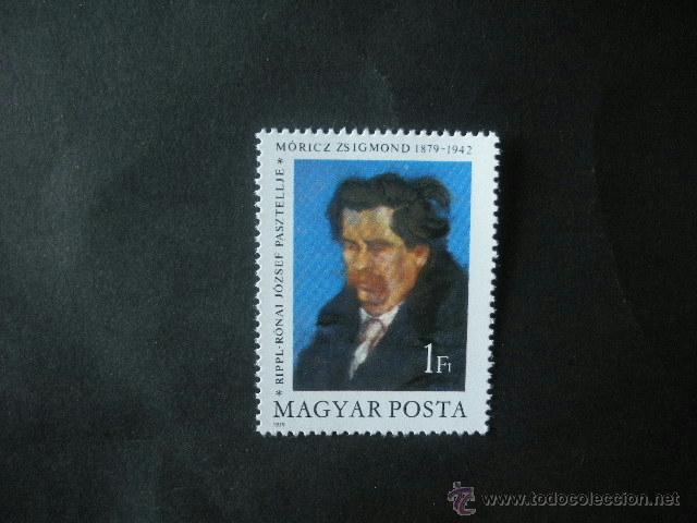 HUNGRIA 1979 IVERT 2662 *** 100º ANIVERSARIO NACIMIENTO ZSIGMOND MORICZ - ROMANCERO HUNGARO (Sellos - Extranjero - Europa - Hungría)