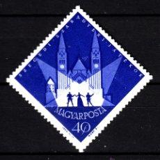 Sellos: HUNGRIA 1592** - AÑO 1963 - FESTIVAL DE VERANO DE TEATRO DE SZEGED . Lote 41377895