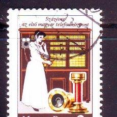 Sellos: HUNGRIA.AÑO 1981.TELEFONIA.TELEFONO.VALOR USADO.MICHEL NR.3493.. Lote 49128958