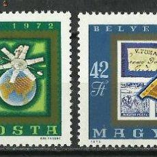 Sellos: HUNGRIA - 1972 - SCOTT B300/B301** MNH. Lote 155872993