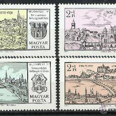 Sellos: HUNGRIA - 1971 - SCOTT B284/B287** MNH. Lote 193791008