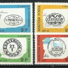 Sellos: HUNGRIA - 1972 - SCOTT B294/B297** MNH. Lote 193791151