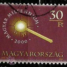 Sellos: HUNGRIA 2000- MI 4571. Lote 155697916