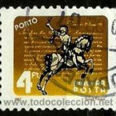 Sellos: HUNGRIA 1987- YV T246 (TAXA). Lote 155698876