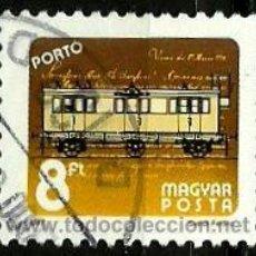 Sellos: HUNGRIA 1987- YV T248 (TAXA). Lote 155698994