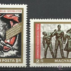 Timbres: HUNGRIA - 1968 - SCOTT 1937/1938 // MICHEL 2463/2464** MNH. Lote 193792006