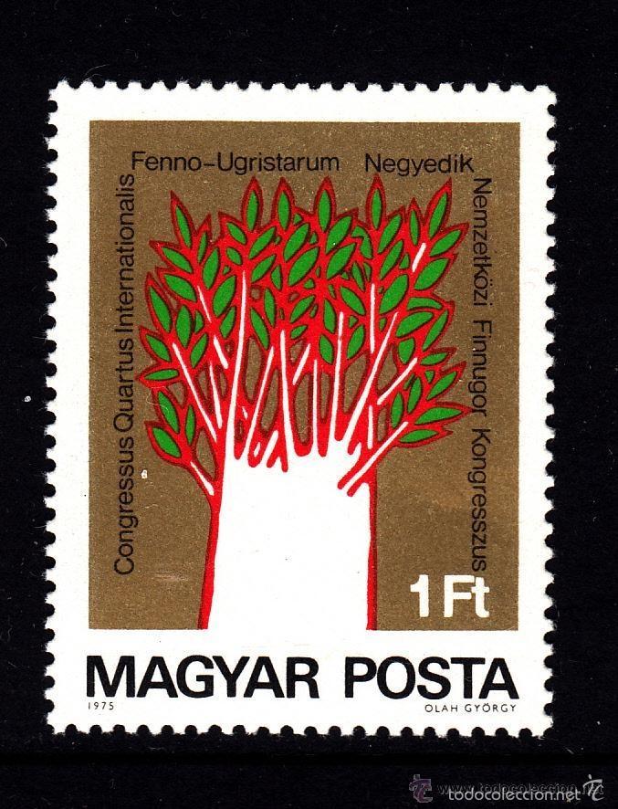 HUNGRIA 1975 IVERT 2446 *** 4º CONGRESO INTERNACIONAL FINLANDES-HUNGARO (Sellos - Extranjero - Europa - Hungría)
