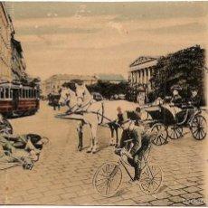 Sellos: CIRCULADA DE BUDAPEST A EL-BIAR (ARGER) VÍA PARIS AÑO 1905 - SELO 10 FILLER HÚNGAROS. Lote 56147919