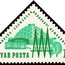 Sellos: HUNGRIA 1964 IVERT 1643 *** EXPOSICION INTERNACIONAL DE BUDAPEST. Lote 57343915
