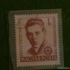 Sellos: HUNGRIA PERSONAJES FAMOSOS,,BERKESFERENC 1962. Lote 58601589