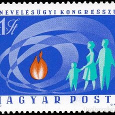 Sellos: HUNGRIA 1970 IVERT 2119 *** 1º CONGRESO PEDAGOGICO HUNGARO. Lote 67584821