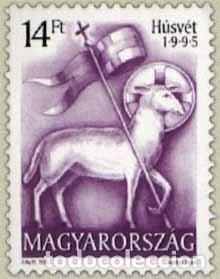 HUNGRIA 1995 IVERT 3493 *** LA PASCUA - ALEGORÍA (Sellos - Extranjero - Europa - Hungría)