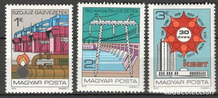 HUNGRIA. 1979. 30º ANIVERSARIO DEL COMECON. MNH**. (Sellos - Extranjero - Europa - Hungría)