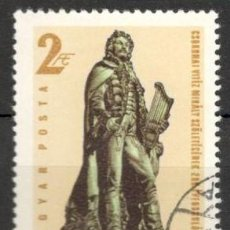 Sellos: HUNGRIA. 1973.MIHALY ESOKONAL. USADO.. Lote 70345698
