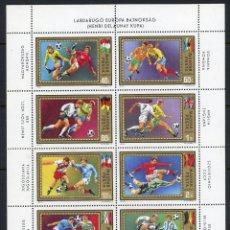 Sellos: HUNGRIA 1972 AEREO IVERT 345/52 *** CAMPEONATO DE EUROPA DE FUTBOL - DEPORTES. Lote 99726007
