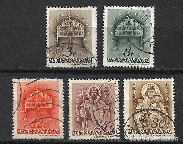 BÁSICOS Y CORRIENTES. HUNGRÍA. SELLOS AÑO 1941/2 (Sellos - Extranjero - Europa - Hungría)
