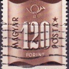 Sellos: 1952 - HUNGRIA - SELLO DE SERVICIO - YVERT 195. Lote 131186928