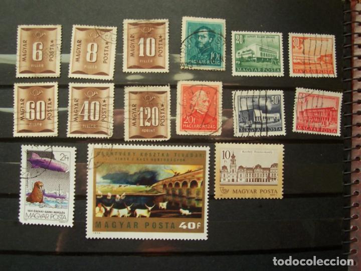 LOTE DE SELLOS (15) DE HUNGRIA MAGYAR POSTA (Sellos - Extranjero - Europa - Hungría)