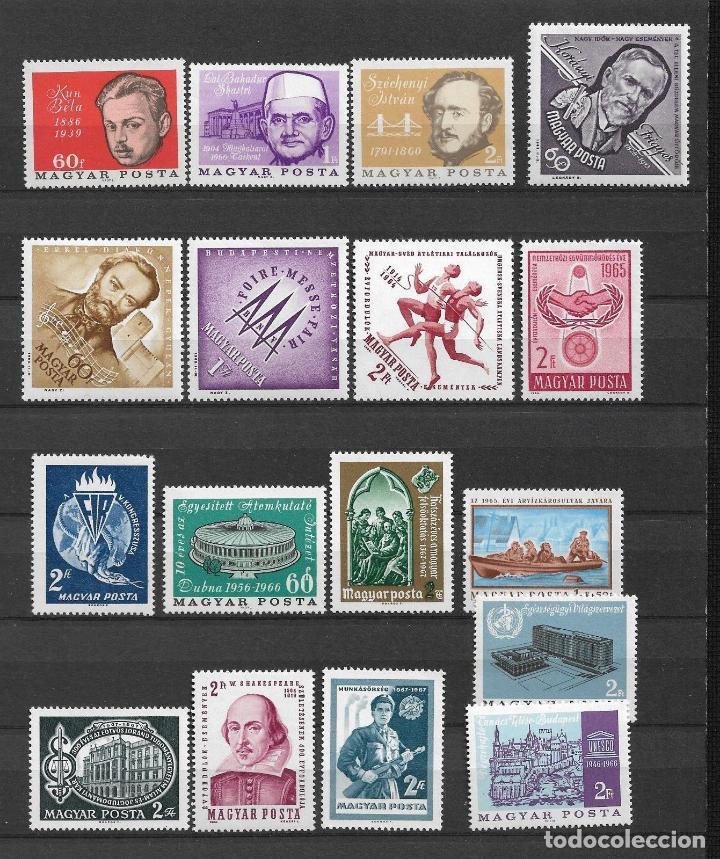 HUNGRIA LOTE SELLOS ** MNH - 1/11 (Sellos - Extranjero - Europa - Hungría)