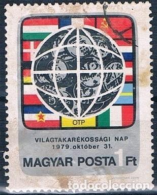 HUNGRIA 1979 SELLO USADO Y 2688 SERIE (Sellos - Extranjero - Europa - Hungría)