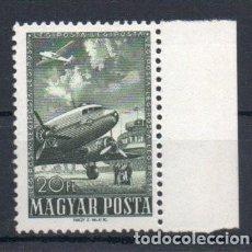 Sellos: HUNGRIA AÑO 1957 YV A9*** CORREO AEREO - AVIONES - TRANSPORTES. Lote 147224462