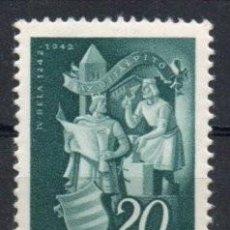 Sellos: HUNGRIA AÑO 1942 YV 609*** REYES. Lote 147228534