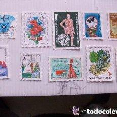 Sellos: LOTE DE 10 SELLOS DE HUNGRIA ( EPOCA COMUNISTA ) : TEMAS VARIOS.. Lote 147264990