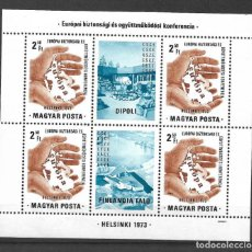 Sellos: HUNGRIA 1973 ** MNH - CONFERENCE FOR EUROPEAN SECURITY - 189. Lote 149620442