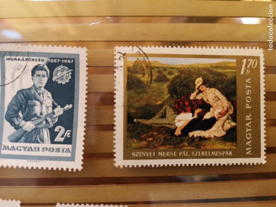 Sellos: LOTE DE SELLOS ANTIGUOS DE HUNGRÍA ,NO SE VENDEN SUELTOS - Foto 2 - 158659086