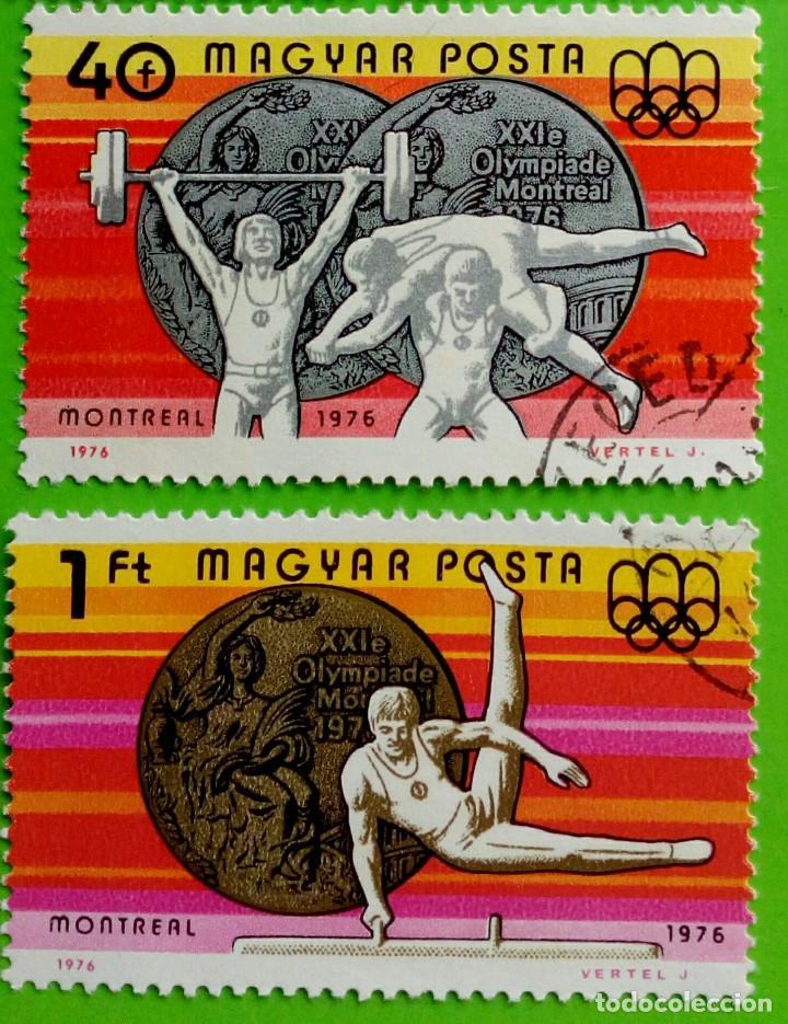 HUNGRIA-1976 JOGOS OLÍMPICOS.USED (Sellos - Extranjero - Europa - Hungría)