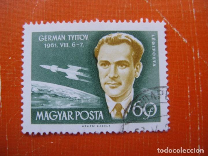 HUNGRIA 1962, CONQUISTA DEL ESPACIO, YVERT 244 AEREO (Sellos - Extranjero - Europa - Hungría)