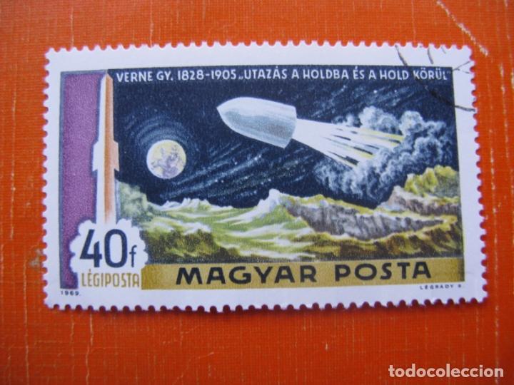 HUNGRIA 1969, DESCUBRIENDO EL ESPACIO, YVERT 309 AEREO (Sellos - Extranjero - Europa - Hungría)