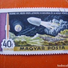 Sellos: HUNGRIA 1969, DESCUBRIENDO EL ESPACIO, YVERT 309 AEREO. Lote 176125044