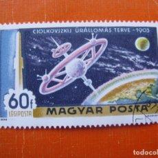 Sellos: HUNGRIA 1969, DESCUBRIENDO EL ESPACIO, YVERT 310 AEREO . Lote 176125187