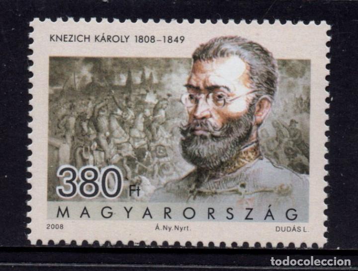 HUNGRIA 4257** - AÑO 2008 - PERSONALIDADES - GENERAL KAROLY KNEZICH (Sellos - Extranjero - Europa - Hungría)