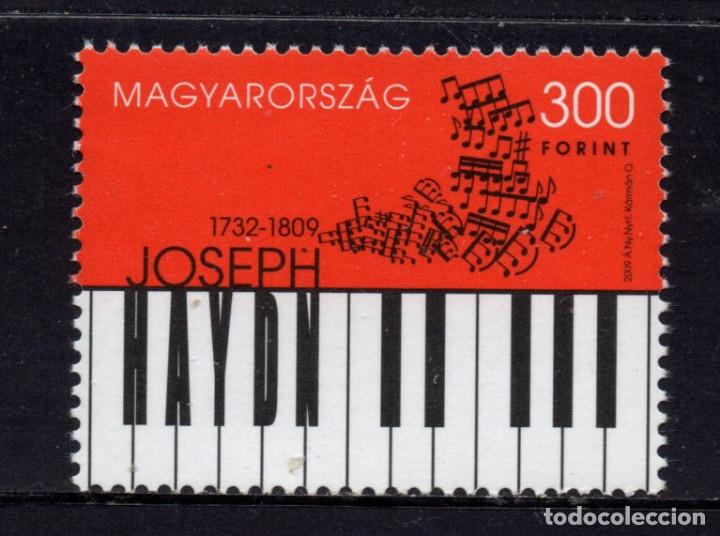 HUNGRIA 4330** - AÑO 2009 - PERSONALIDADES - MUSICA - JOSEPH HAYDN, COMPOSITOR (Sellos - Extranjero - Europa - Hungría)