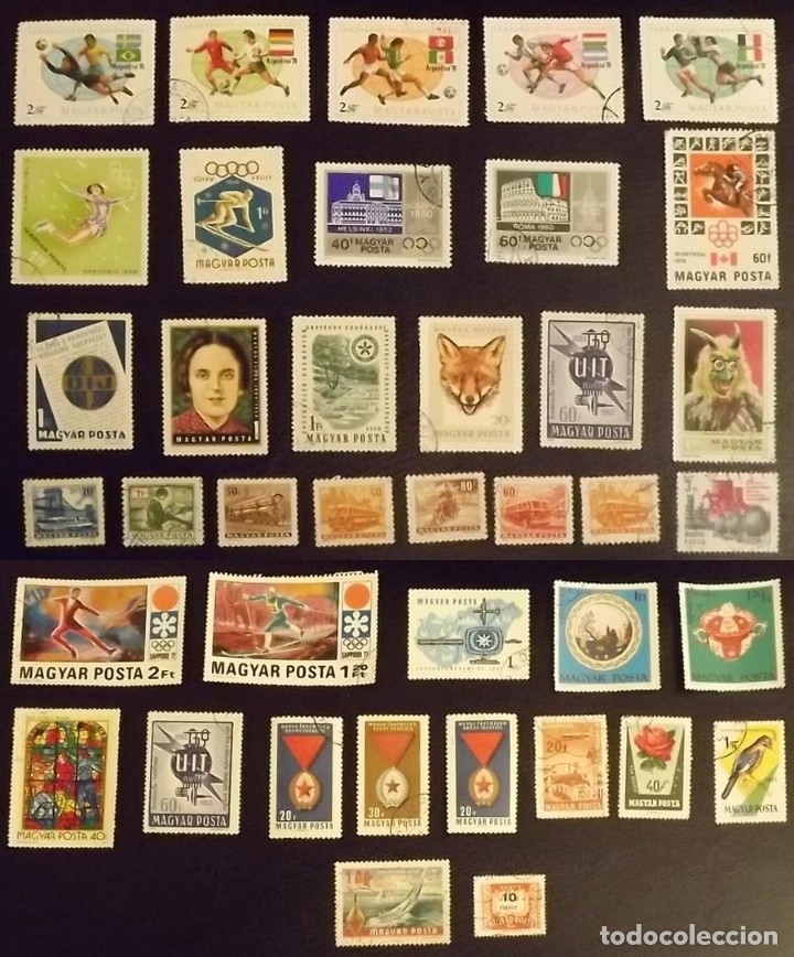 Sellos: Hungría, 149 sellos - Foto 6 - 176976420