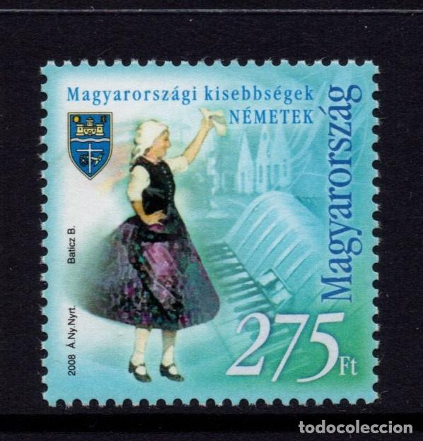 HUNGRIA 4270** - AÑO 2008 - MINORIAS ETNICAS DE HUNGRIA (Sellos - Extranjero - Europa - Hungría)